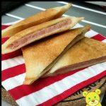 スパムとチーズのホットサンド